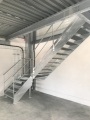 escalier métalique industriel